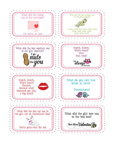 valentines jokes g printable jokes