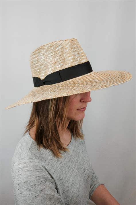 lack of color hats lack of color spencer wide brimmed hat from wicker park by