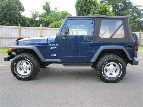 2001 Jeep Wrangler For Sale Used 2001 Jeep Wrangler For Sale