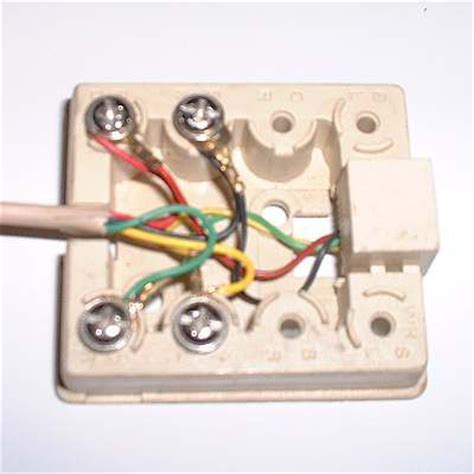 wire  telephone jack