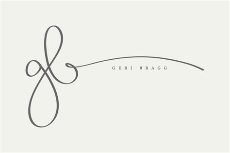 tattoo font for initials initials for small businesses simple sally designs