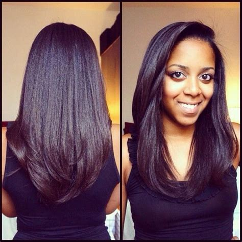 dominican layered hairstyles relaxed hair can be healthy too hairgoals hair