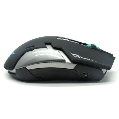 Mouse Wireless Semarang geyes gaming mouse wireless 1600 dpi black jakartanotebook
