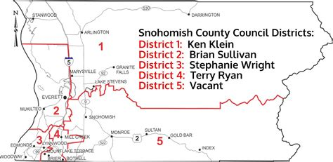 Snohomish County Records Council District Maps Snohomish County Wa Official Website