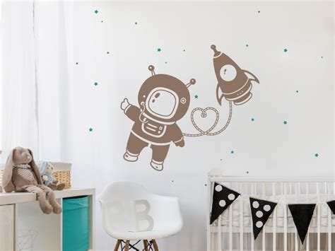 Stickers Enfant 852 by Sticker Astronaute Fus 233 E Magic Stickers