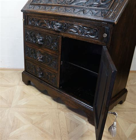 mens chest of drawers profusely carved green man bureau chest of drawers