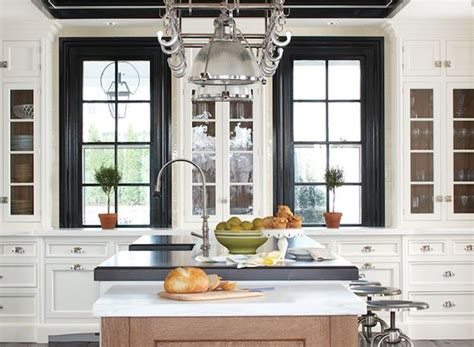 Trim Around Windows Inspiration Kitchen Design Inspiration For Our Diy Kitchen Remodel Cabinets Window And Black Trim