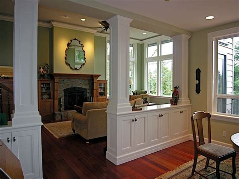 divider between kitchen and living room living room dining room divider cabinetry w storage