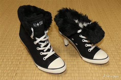 convers high heels converse high heels exclusivity of japan コンバース fait au japon
