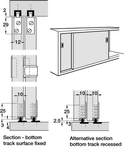 Cupboard Sliding Door Systems sliding cabinet door system quality track system for sliding cabinet doors 19mm thick we