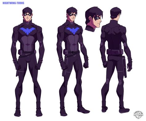 young design concept cartoon network s young justice animated series has