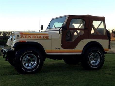 1982 Jeep Cj5 Buy Used 1982 Jeep Cj5 In Burlington Washington United
