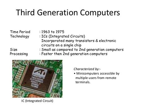 which generation of computer made use of integrated circuit third generation computers integrated circuits 74935 homeup