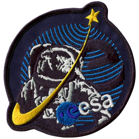 european space agency esa space patches