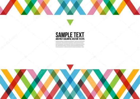 layout photos vector abstract colorful triangle pattern background cover