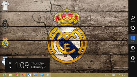 free download themes for windows 7 real madrid download gratis tema windows 7 real madrid theme for
