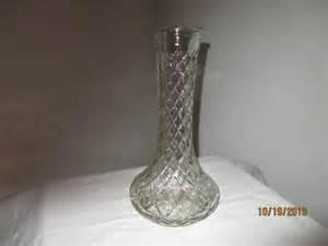 Hoosier Glass Vase 4095 Sale Vintage Hoosier Clear Glass Vase 4095 Free Shipping