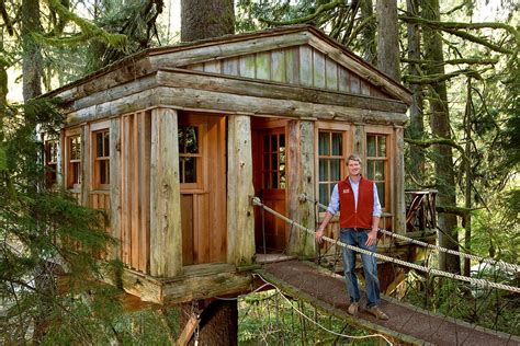 treehouse house pete nelson on the new reality television series