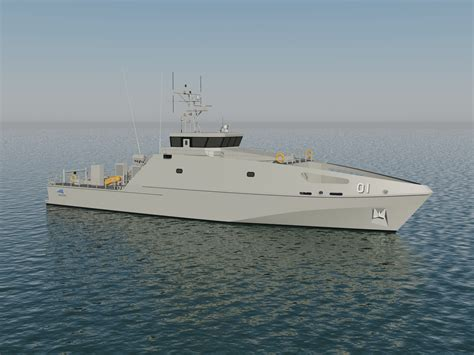 pacific class patrol boat image library concepts renders austal corporate