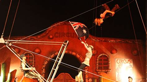 swinging the lead origin circus history australia images