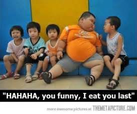 Fat Kid On Phone Meme - being funny can save your life the meta picture