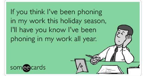 work lazy holiday christmas season funny ecard christmas