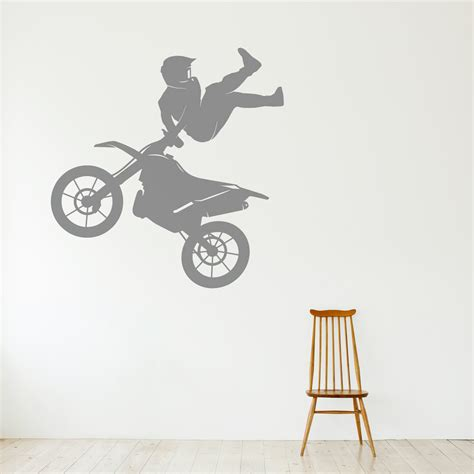 motocross wall stickers motocross freestyle wall decal