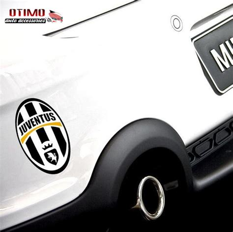Sticker Logo Juventus Bl05 stickers car stickers reflective juventus football europe league team logo auto stickers