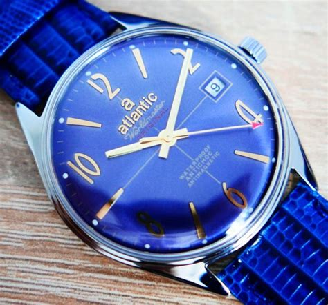 atlantic worldmaster original blue heren   catawiki