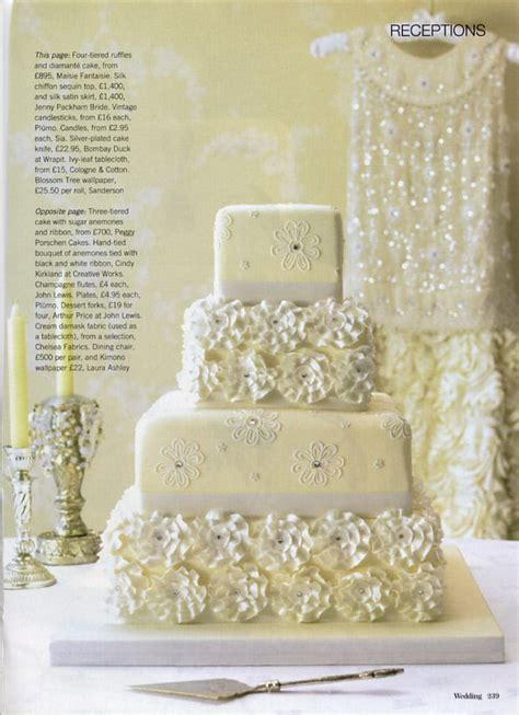 Wedding Cakes Magazine by Tallulah Wedding Cake Wedding Magazine