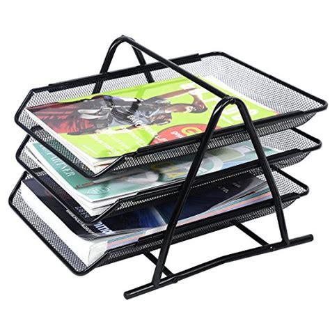 Mesh Desk Organizer Tray New 3 Tier Mesh Desk Tray Organizer Storage Rack Holder File Folder Document Paper