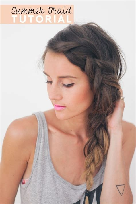 Easy Hairstyles For Thick Hair by 26 Pretty Braided Hairstyle For Summer Popular Haircuts
