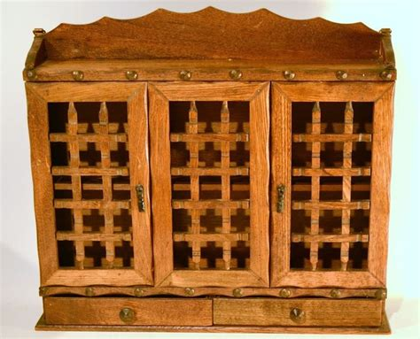Wooden Spice Cabinet With Doors Vintage Large Wall Hang Wood Spice Rack Cabinet With 3 Doors And 2 Drawers Home Garden