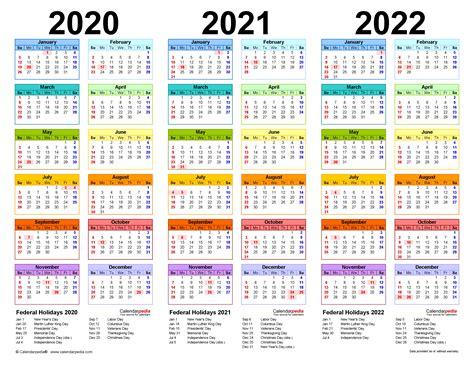 year calendar  printable excel templates