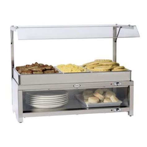 buffet sneeze guard cadco cmlb csg warming cabinet w sneeze guard and buffe etundra