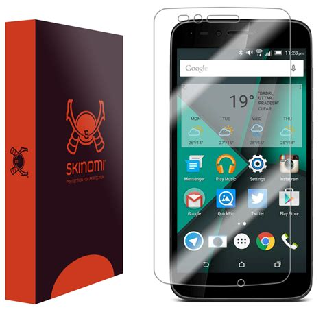 Hp Alcatel Onetouch Conquest skinomi techskin alcatel onetouch conquest screen protector
