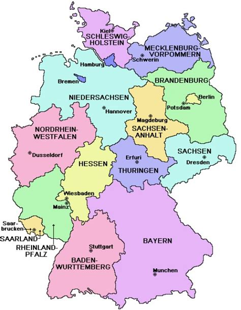 labeled map of germany german cuisine several great recipes hubpages