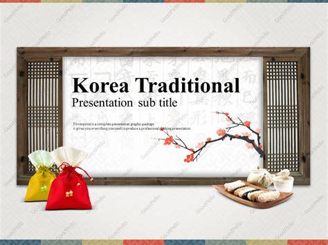 theme powerpoint korean korean culture ppt goodpello