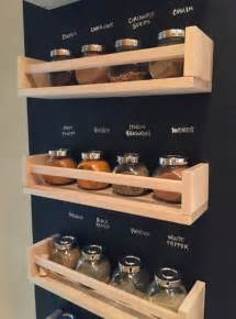 ikea wall mounted spice rack 18 ways to hack ikea spice racks