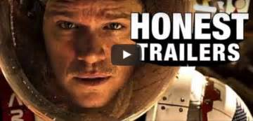groundhog day honest trailer the martian honest trailer is spot on hilarious
