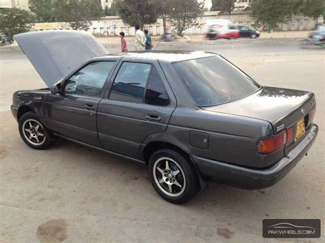 nissan sunny 1991 nissan sunny ex saloon 1 3 cng 1991 for sale in karachi