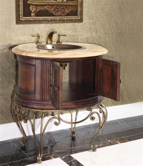 Pedestal Bathroom Vanity Legion 32 Inch Vintage Pedestal Bathroom Vanity Wb 1838l In Walnut Finish