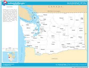 state map with cities and counties washington state maps interactive washington state road