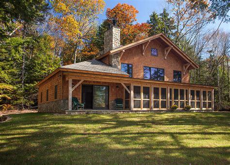 Bensonwood Project Update Sustainable Family Lake House Family Lake House Plans