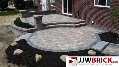 raised paver patio designs best 25 paver patio designs ideas on backyard