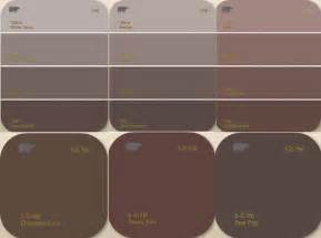 living with color shade options in choosing brown paint