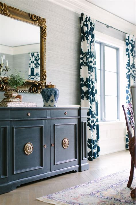 Blue Dining Room Buffet 25 Best Ideas About Navy Blue Curtains On