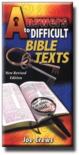difficult books answers to difficult bible texts e book