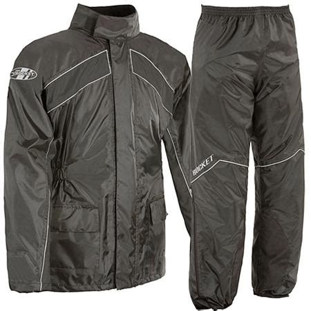 motorcycle rain gear waterproof pants and jacket coat nj