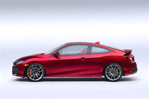 Tuned Honda Civic by 2016 Honda Civic Coupe Gets Tuned With Cgi Mods